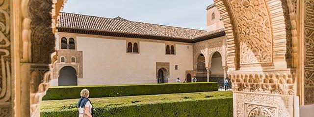 The Alhambra in Granada, Spain.