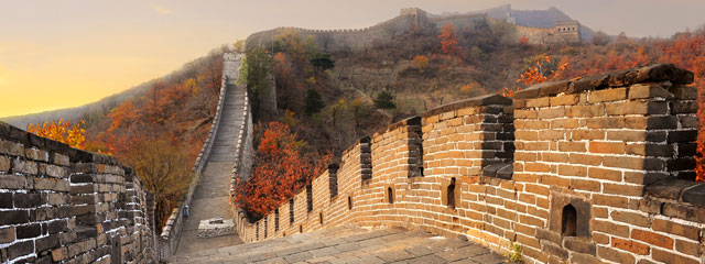 The Great Wall, Beijing in Autumn