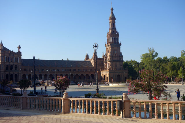 Plaza Espana, Seville, Spain