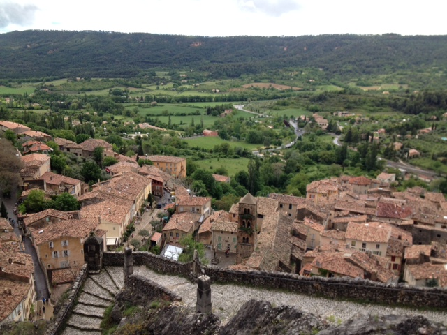 The village of Moustiers Sainte Marie