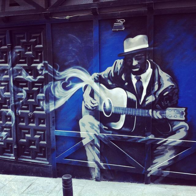 Street art, Madrid, Spain