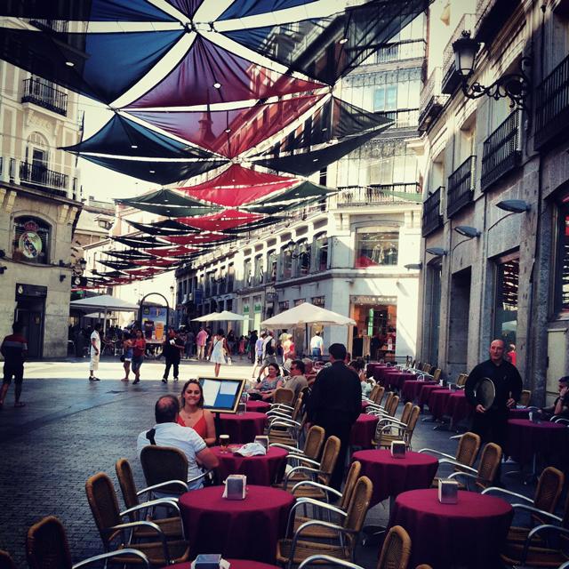 Calle Preciados, Madrid, Spain