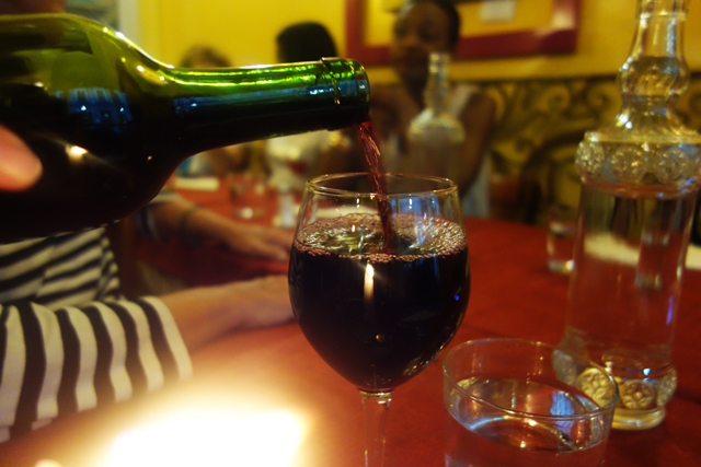 Red wine, Madrid, Spain