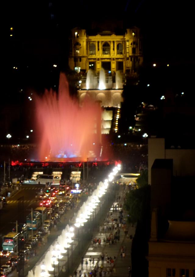 Magic Fountain Show, Montjuic, Barcelona, Spain