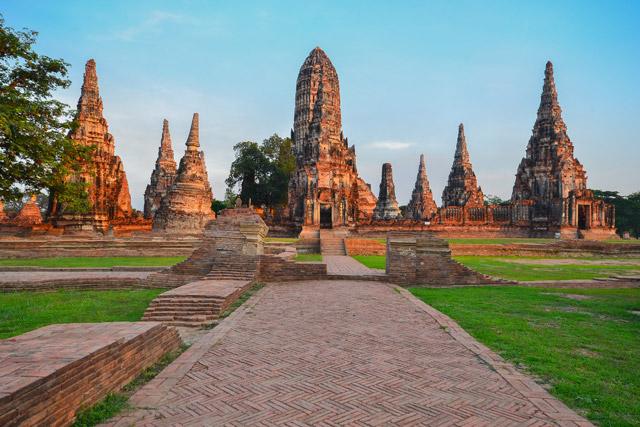 Thailand Chaiwattanaram Temple