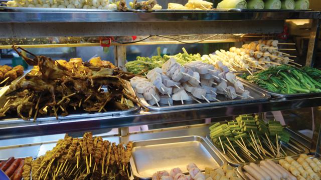 Street food, Yangon, Myanmar