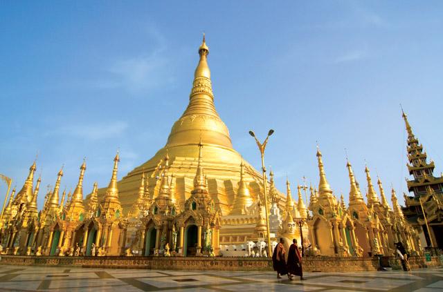 Shwedagon Pagoda, Myanmar, Burma