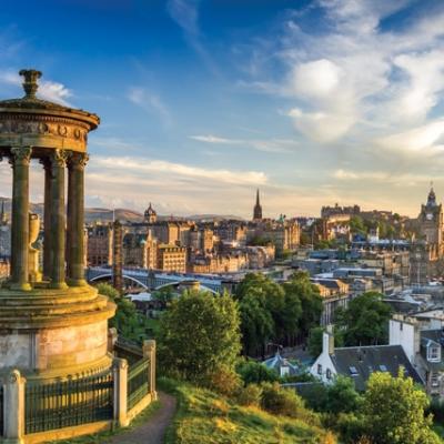 View from Calton Hill, Scotland