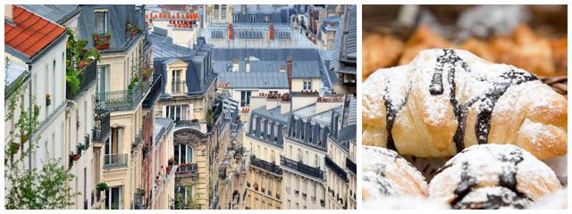 Pain au chocolat in Paris, France