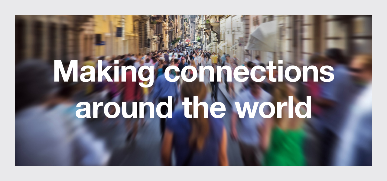 INFOGRAPHIC: Making Connections Around the World