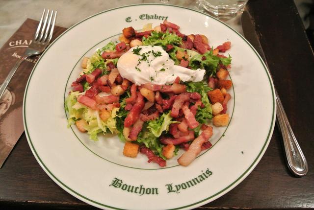Salad Lyonnaise, Lyon, France