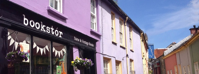 Shops in Kinsale, Ireland