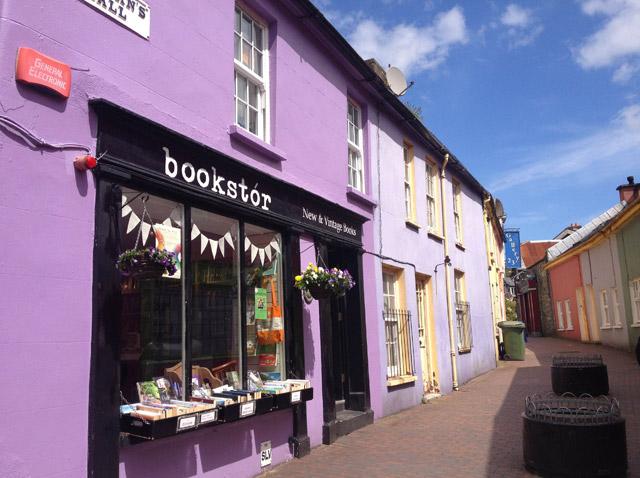 Shops in Kinsale, Ireland