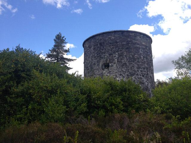 Martello Tower in Cork County, Ireland