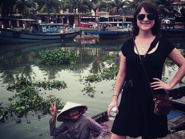 Photo bomb in Vietnam