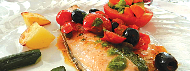Fresh fish from Lake Como