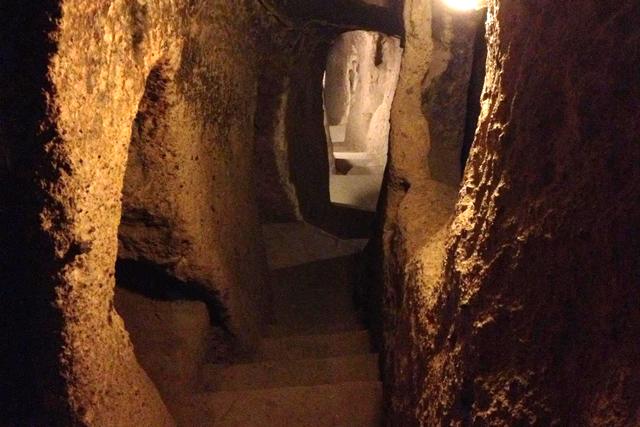 Derinkuyu Underground City, Cappadocia, Turkey