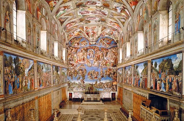 Sistine Chapel, Vatican City, Rome, Italy