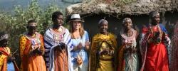 Maggie meets the Masai Mara in Kenya