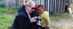Christine explores South Africa, top to bottom