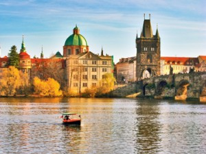 The Danube in Prague