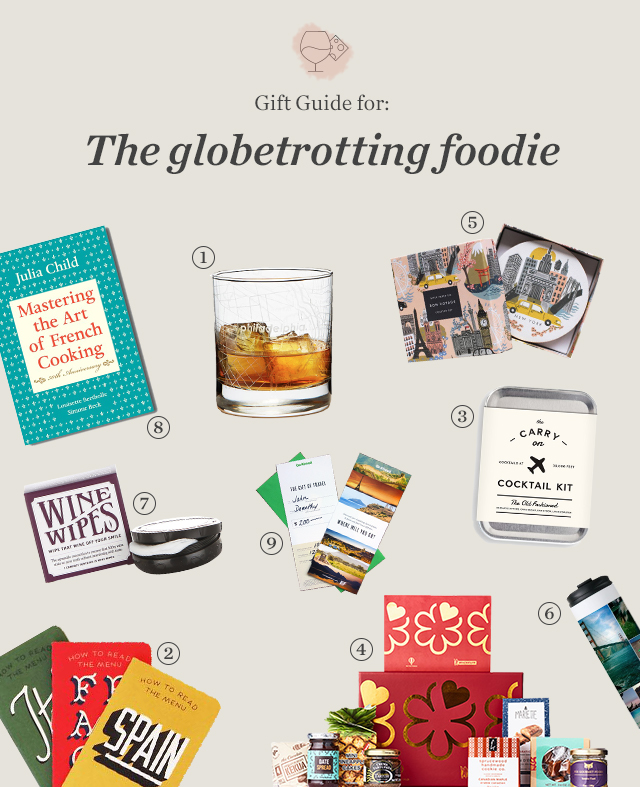 Gift Guide for the globetrotting foodie