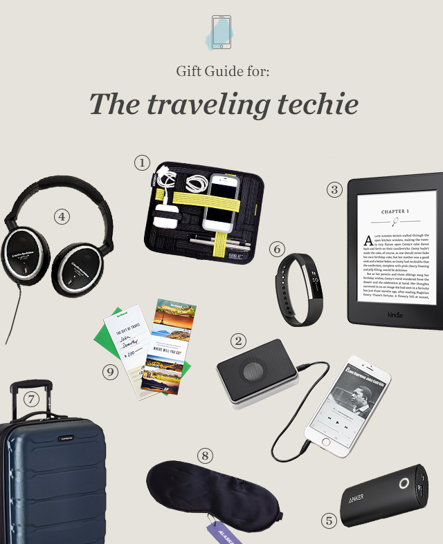 Gift Guide for the traveling techie