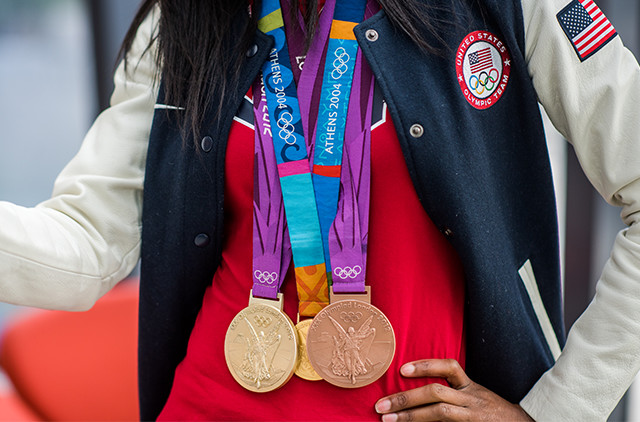 DeeDee's Gold and Bronze medals