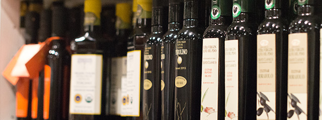 Olive oil at Eataly Boston