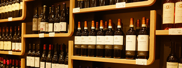 Wine store at Eataly Boston