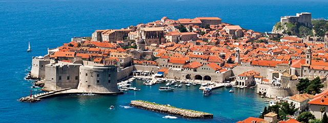 dubrovnik croatia adriatic sea
