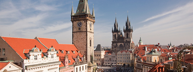 prague czech republic church