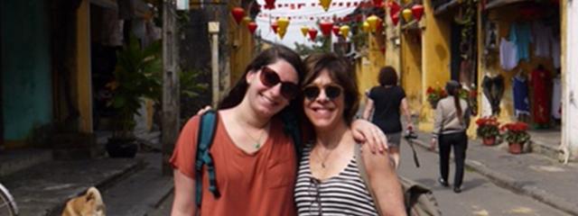 Lori in Hoi An Vietnam