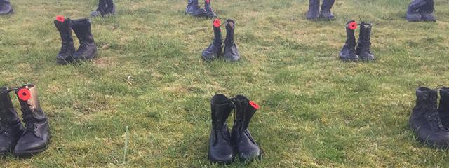 Boots, Vimy Ridge