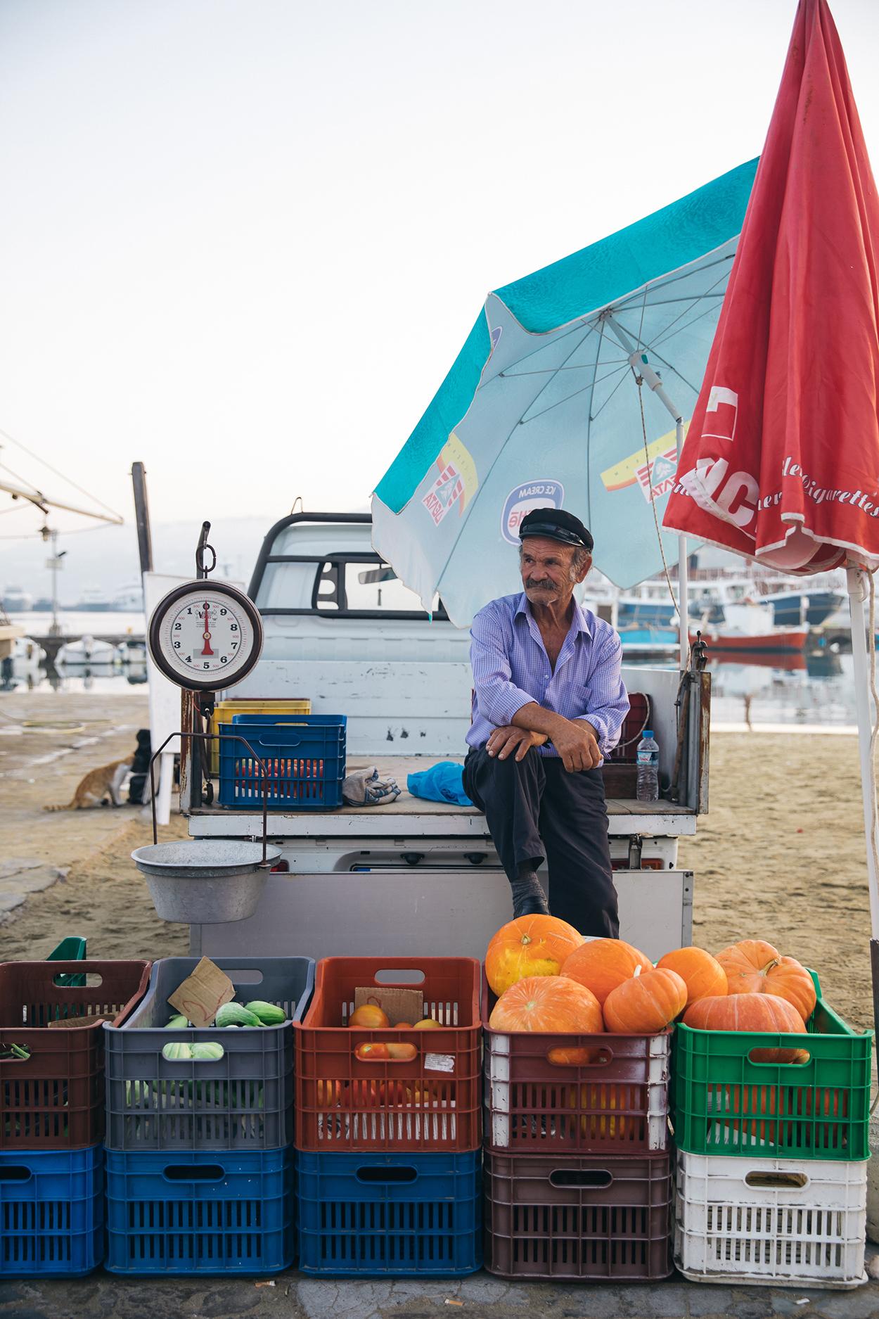 Mykonos vendor