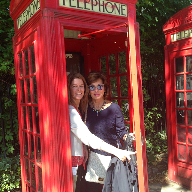 Debbie phone booth