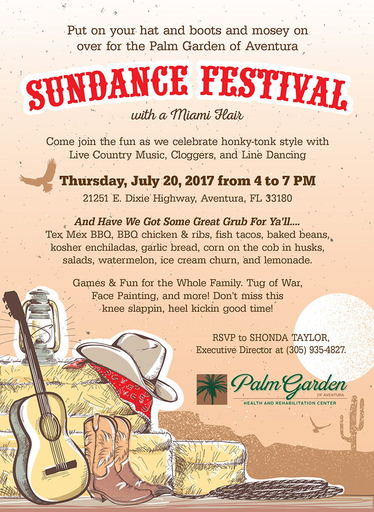 Sundance Festival – July 20Th » Palm Garden Of Aventura