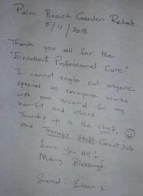 testimonial from Eileen F