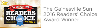 Gainesville Sun 2016 Readers' choice award