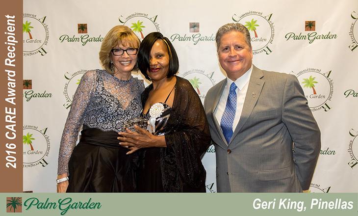 2016 CARE award recipient Geri King, Pinellas