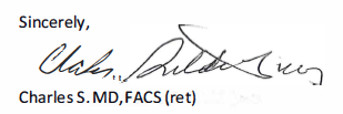 Signature of Charles
