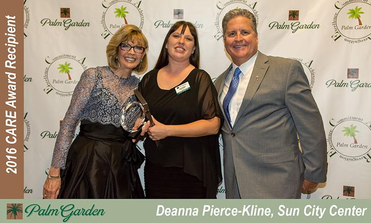 Deanna Pierce C.A.R.E Award Recipient
