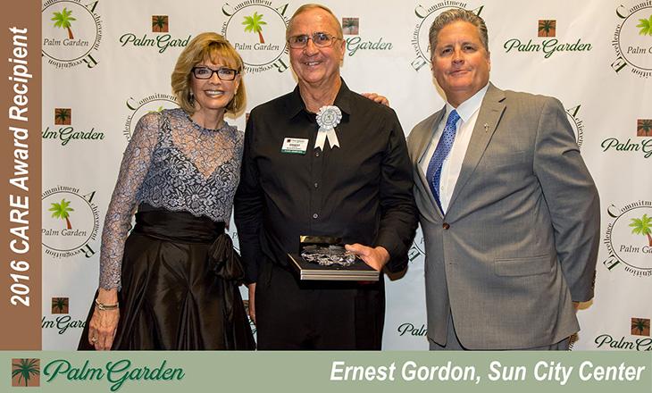 Ernest Gordon C.A.R.E Award Recipient