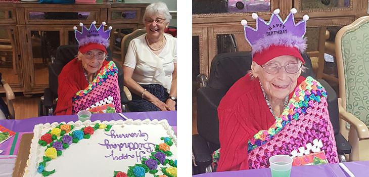 Celebrating Doris' 105th Birthday