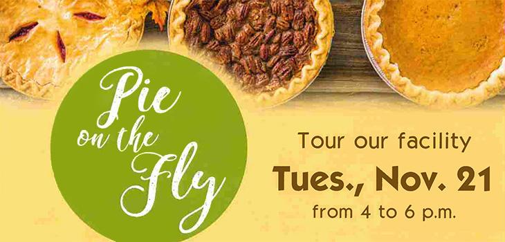 Pie on the Fly Nov. 21st, 2017 » Palm Garden of Sun City Center