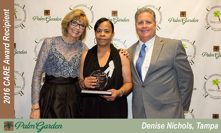 Denise Nichols C.A.R.E award recipient
