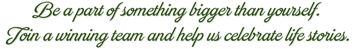 Be a part of something bigger than yourself banner