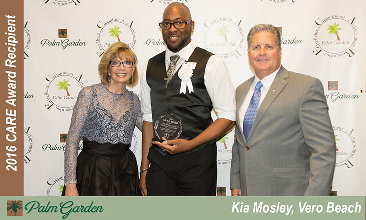 2016 CARE award recipient Kia Mosley, Vero Beach