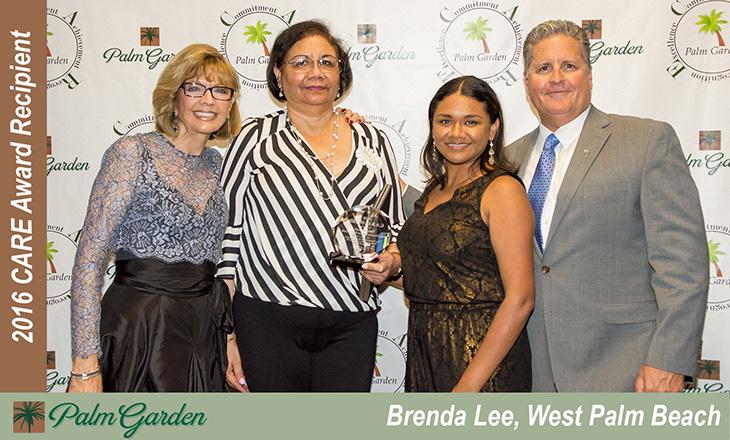 2016 CARE award recipient Brenda Lee, West Palm Beach