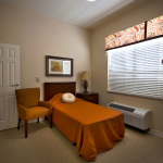 single occupancy resident room with air conditioning